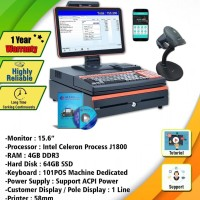 All In One Pos NURAPOS Z700 + Software GS POS System