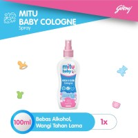 Mitu Baby Cologne Pink [Spray 100ml]