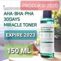 SOMEBYMI AHA BHA PHA 30Days MIRACLE TONER 150ML / Some by mi Toner