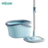 MICOE Alat Pel Putar Pel Lantai Putar Otomatis Mop Lantai Pembersih