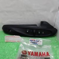 Cover Tutup Tameng Pelindung Knalpot 44D-E4718-00 Xeon Karbu YAMAHA