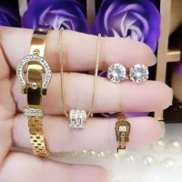 titanium set perhiasan dewasa 22z22