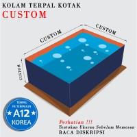 Kolam Terpal A12 Kotak Custom