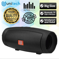 Speaker Bluetooth Wireless Unitech J007 Super Bass Support TF Card USB