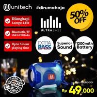 Speaker Bluetooth Wireless + Lampu LED Unitech TG-162 Super Bass