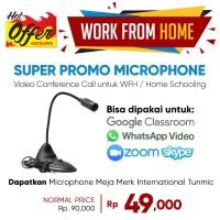Mic Computer Microphone Flexible Desktop Microphone Meja