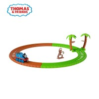 Thomas and Friends TrackMaster Monkey Trouble Thomas Trackset - Mainan