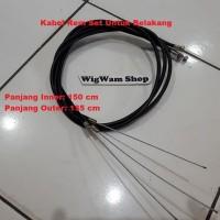 Kabel Rem Set Sepeda ( Belakang / Rear )