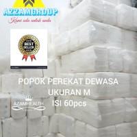 POPOK DEWASA MODEL PEREKAT uk M 1bal isi 60pcs