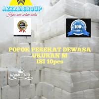 POPOK DEWASA MODEL PEREKAT uk M 1pak isi 10pcs