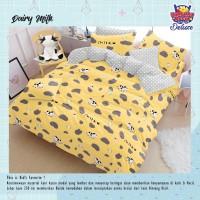 Bed cover dan sprei set katun motif anak ukuran 180x200