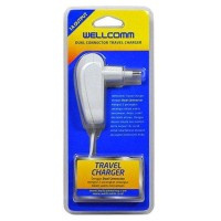 Wellcomm Dual Connector Travel Charger 1.5 A real capacity USB