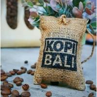 Parfum Biji Kopi Bali Asli Label Pengharum Pewangi mobil ruangan 7x10