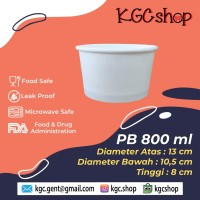 Paper Bowl / Mangkok Kertas / Mangkok Bakso / 800ml [min 50 pcs]