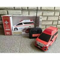 RC Mobil Ambulance Alphard Vellfire Mainan dan Koleksi Anak