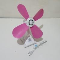 Kipas angin jepit, meja, dinding 3 in 1. Kyzuku 17 watt (Tinggi 37cm)