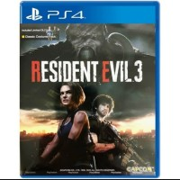 Resident Evil 3 Game PS4 / RE 3 / PS4 Game Biohazard 3 / R. E 3