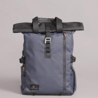 Tas Ransel Backpack Gulung Urban Factor Lanspresado Navy Original