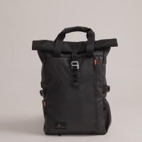 Tas Ransel Backpack Gulung Urban Factor Lanspresado Black Original