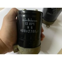 Kapasitor Elco Nichicon 400v 2700mF