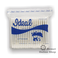 Cotton Bud / Korek Kuping Ideal Regular Size Refill isi 100 - I 123