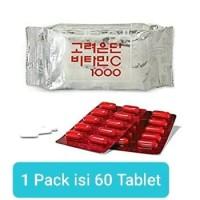 Vitamin C 1000 Korean Eundan 1 pack (isi 60 tablet)