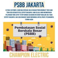 PSBB JAKARTA CHAMPION ELECTRIC