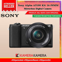 SONY ALPHA A5100 / Sony 5100 KIT 16-50MM Kamera Mirrorless - RESMI