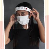 FACESHIELD Pelindung Wajah Pelindung Muka Premium Bahan Tebal