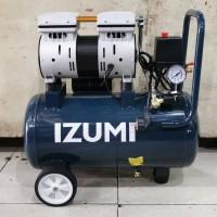 Izumi kompresor silent oilless compressor OL 0724 3/4HP 550w tank 24lt