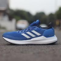 Sepatu Adidas Solar Blaze Blue list White