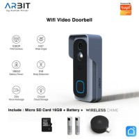 Smart Home - ARBIT Wifi Video Doorbell 1080p Audio