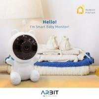Smart Home - ARBIT - ARBIT Wifi Baby Cam 1080p with temperature Sensor