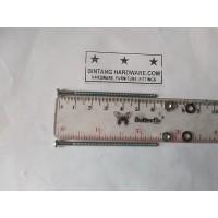 Baut JP 3X60 mm Set Mur Putih dan Ring Plat Per Set Murah M3x60mm Plus