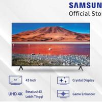 TV LED SMART SAMSUNG 43INCH - 43TU7000 UHD 4K TRUE RGB CRYSTAL 2020