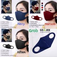 Masker Scuba / Masker Kain / Masker Anti Debu / Masker Hitam