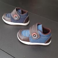 Sepatu boot denim / sepatu denim / sepatu anak