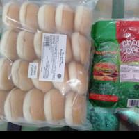 Paket roti burger mini