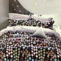 Bed Cover dan Sprei Katun Jepang Motif Anak Rainbow Candy