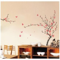 JM7138 FLOWER BRANCH wall sticker/ wallsticker 60x90