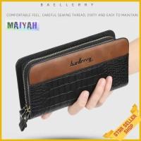 Baellerry Croco Long Wallet Dompet Pria Wanita Original Asli Import