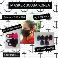 MASKER SCUBA / MASKER BAHAN / KUALITAS BAGUS / MASKER MURAH / HANDMADE