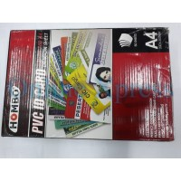 Laminating Film PVC ID Card Dragon Sheet A4 Hombo