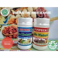 Obat Detox Paru Paru Basah / Kering Herbal/ Paru Paru Flek Radang Paru
