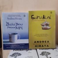 Novel Paket 2 - Guru Aini - Buku Besar Peminum Kopi - Andrea Hirata