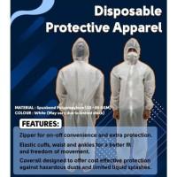 Baju APD Hazmat ALat perlindungan diri Homemade Astronot coverall suit