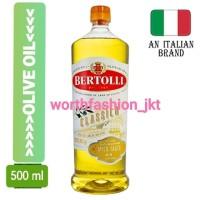 BERTOLLI CLASSICO OLIVE OIL / MINYAK MASAK SEHAT BEBAS KOLESTEROL