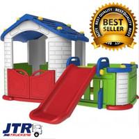 Mainan Rumah Perosotan Anak BIG HAPPY Tobebe PLAYHOUSE Rumah Rumahan