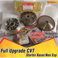 UPGRADE CVT Beat Karburator Pulley Beat Rumah Roller Beat Fi Kampas