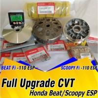 Full Upgrade CVT Honda Beat Fi esp Mangkok kampas ganda per cvt racing